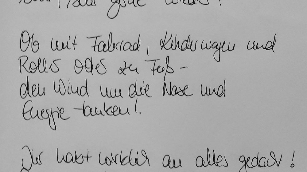 Ferienhaus Wiesenpieper - Gästebuch 10