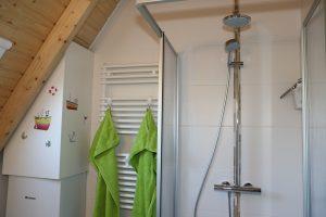 Ferienhaus Wiesenpieper - Duschbad
