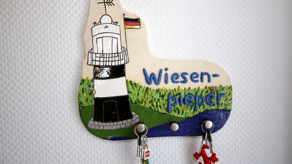 Ferienhaus Wiesenpieper - Schlüsselbrett