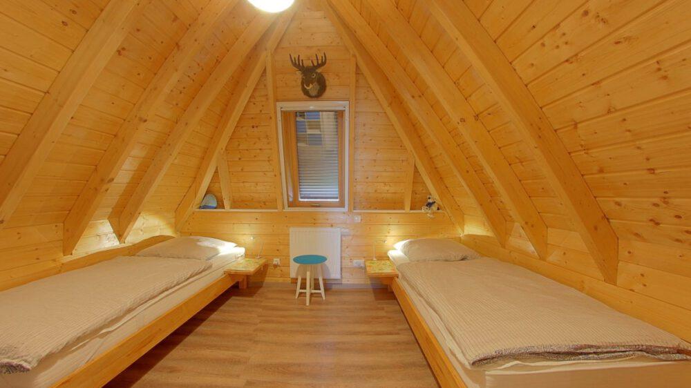 Ferienhaus Wiesenpieper - Schlafzimmer2 oben
